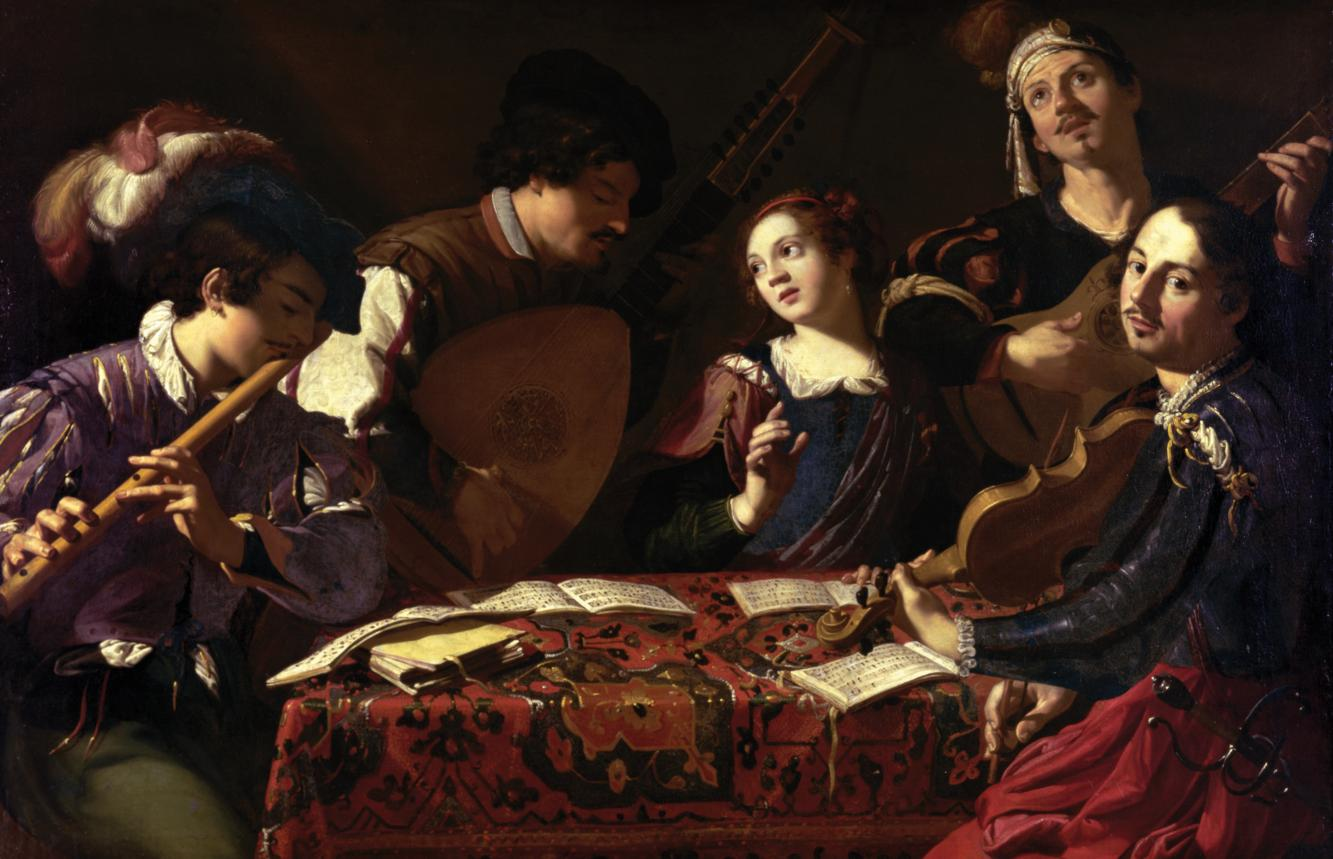 Baroque_Music_The Concert Theodoor Rombouts 1597 - 1637